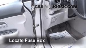 Interior Fuse Box Location: 20072010 Kia Rondo  2007 Kia