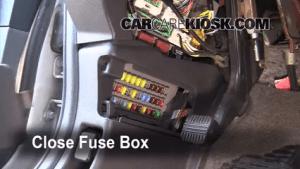 Interior Fuse Box Location: 20062014 Honda Ridgeline