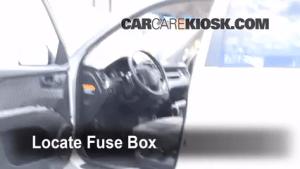 Interior Fuse Box Location: 20052010 Kia Sportage  2007