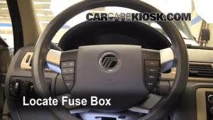Interior Fuse Box Location: 20082009 Ford Taurus  2008