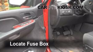 Interior Fuse Box Location: 20072013 Chevrolet Avalanche  2009 Chevrolet Avalanche LT 60L V8
