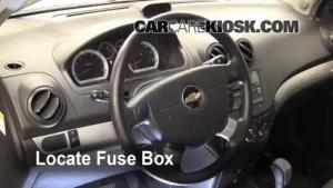2007 Chevrolet Aveo Fuse Box 2005 Chevrolet Trailblazer