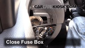 Interior Fuse Box Location: 20072013 Chevrolet Silverado 2500 HD  2008 Chevrolet Silverado
