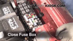 Replace a Fuse: 20092016 Ford Flex  2009 Ford Flex SEL 3