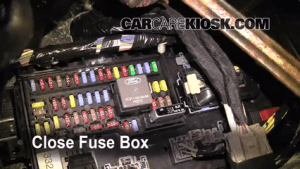 Interior Fuse Box Location: 20092016 Ford Flex  2009