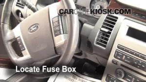 20092014 Ford Flex Interior Fuse Check  2009 Ford Flex