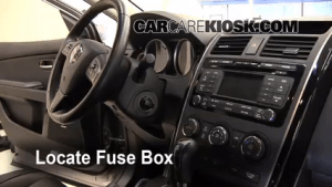 Interior Fuse Box Location: 20072015 Mazda CX9  2009