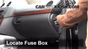 Interior Fuse Box Location: 20072012 MercedesBenz GL450  2009 MercedesBenz GL450 46L V8