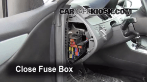 Interior Fuse Box Location: 20092016 Volkswagen CC  2009