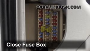 Interior Fuse Box Location: 20102013 Kia Forte  2010 Kia Forte EX 20L 4 Cyl Coupe (2 Door)