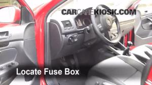 Interior Fuse Box Location: 20052014 Volkswagen Jetta