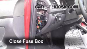Interior Fuse Box Location: 20052014 Volkswagen Jetta  2010 Volkswagen Jetta TDI 20L 4 Cyl