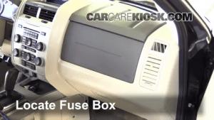 Interior Fuse Box Location: 20052012 Ford Escape  2011
