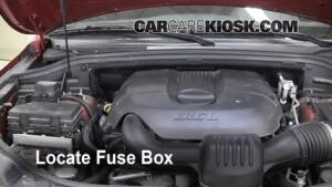 Interior Fuse Box Location: 20072011 Dodge Nitro  2010 Dodge Nitro SXT 40L V6