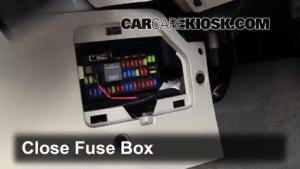 Interior Fuse Box Location: 20052012 Ford Escape  2012 Ford Escape XLT 25L 4 Cyl