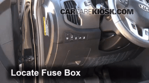 Interior Fuse Box Location: 20112014 Kia Sportage  2012