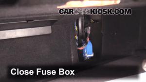 Interior Fuse Box Location: 20112016 BMW X3  2013 BMW X3
