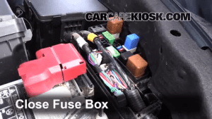 Replace a Fuse: 20132015 Nissan Altima  2013 Nissan