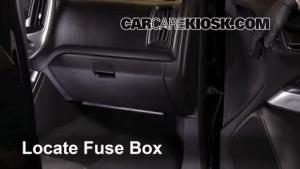 Interior Fuse Box Location: 20042012 Chevrolet Colorado  2004 Chevrolet Colorado 28L 4 Cyl