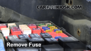 Interior Fuse Box Location: 20032008 Pontiac Vibe  2008