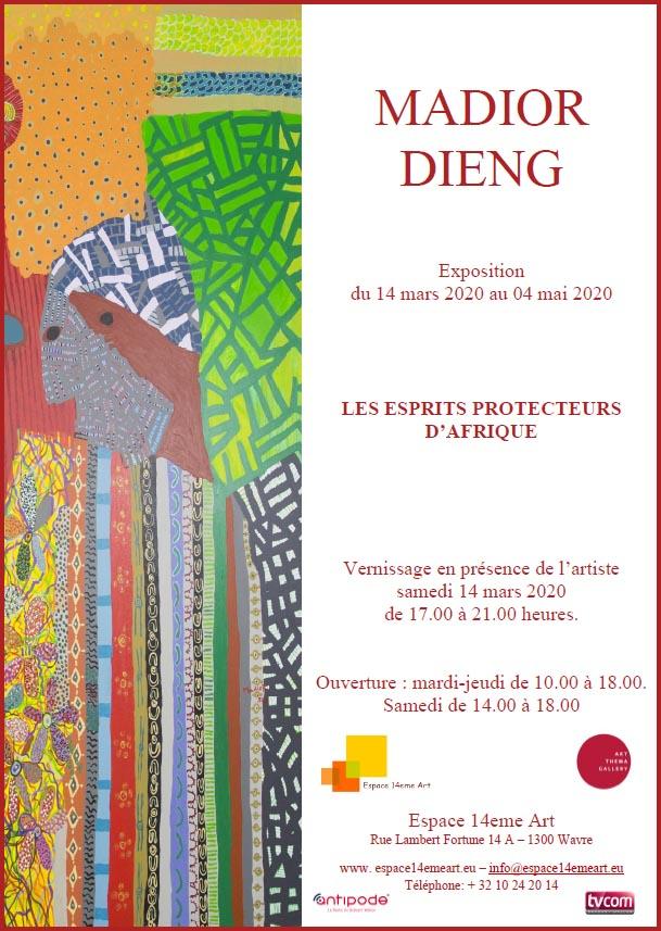 [Prolongée] Exposition » Les esprits protecteurs d'Afrique» par Madior