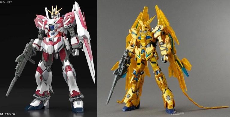 Gundam NT vs PHENEX Psycoframe