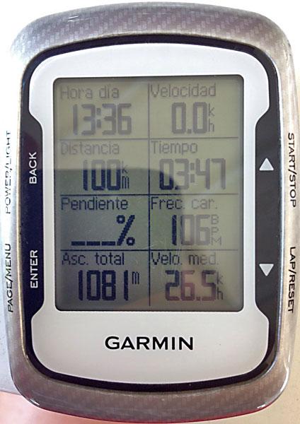 Datos del GPS