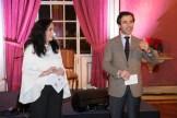 O Sr. Cônsul de Portugal em Sevilha e a Presidente da nossa associação