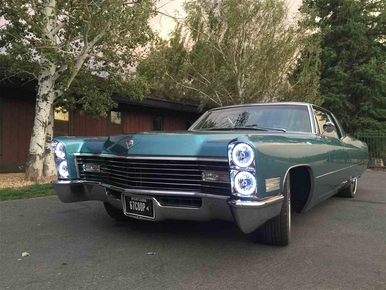 1967 Cadillac Sedan Deville Interior