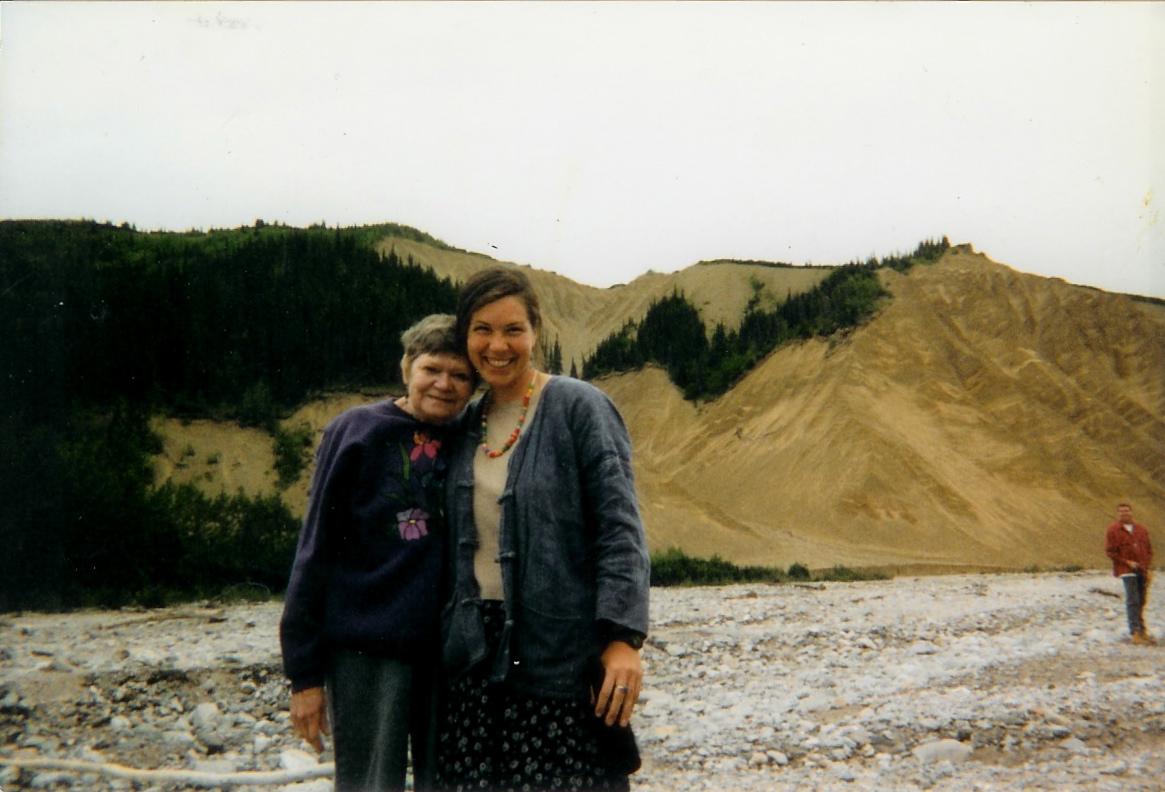 Sharon Lee Cahill's First Alaskan Adventure -- August 1998