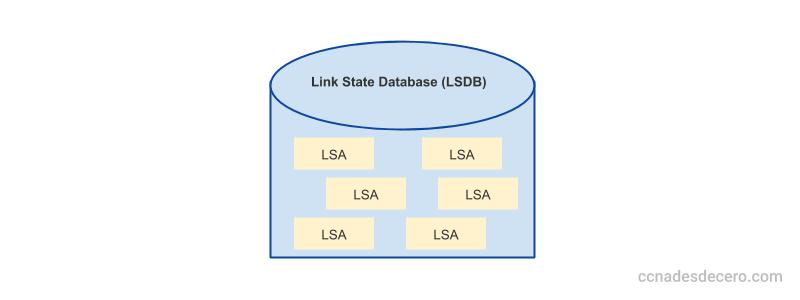 Base de datos de LSA (LSDB)