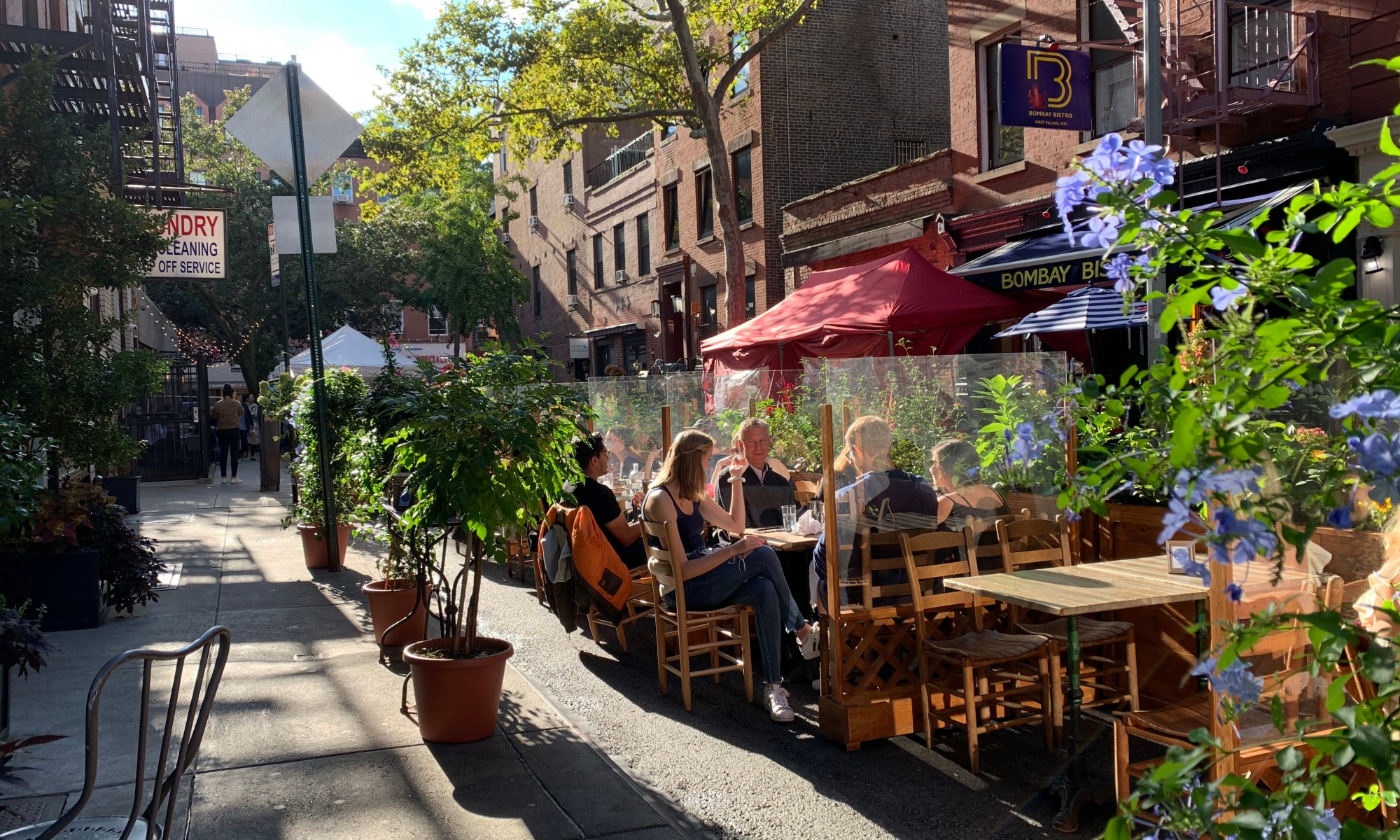 Outdoor Restaurant on Corneila Street