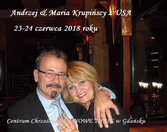 Andrzej i Maria Krupińscy z USA