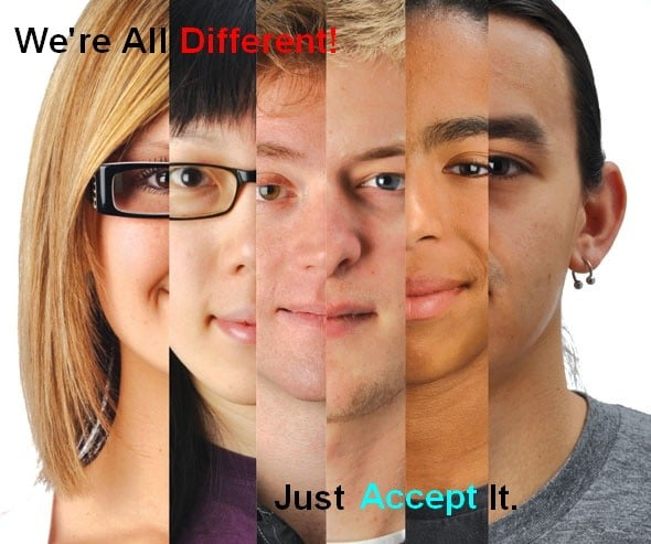 We're All Different