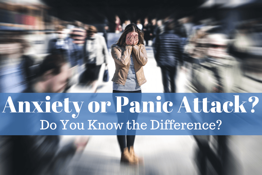 Do You Know the Difference Between an Anxiety Attack and a Panic Attack?