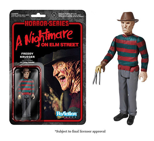 2014 Funko Horror Series ReAction Figures Details Images