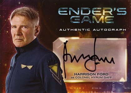 Harrison Ford Autograph Card Collecting Guide Checklist
