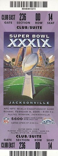 super bowl tickets image gallery list