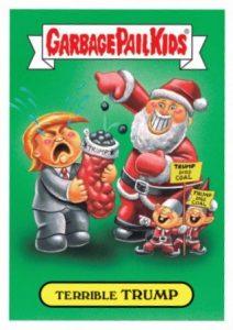 2016 Topps Garbage Pail Kids Christmas Checklist Set Info
