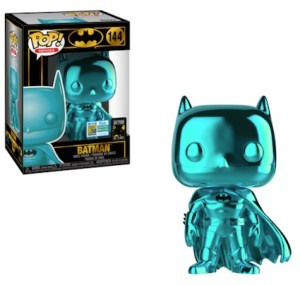 POP DC BATMAN 80th Teal Chrome  SDCC 2019 VF 144