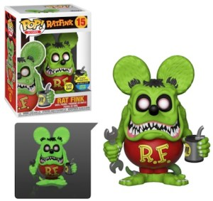 POP ICONS RAT FINK Glow  SDCC 2019 VF 15