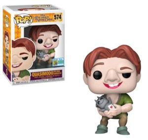 POP DISNEY HUNCHBACK OF NOTRE-DAME QUASIMODO SDCC 2019 VF 574