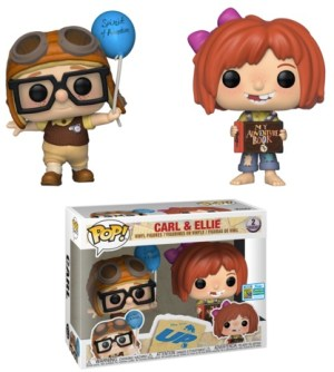 POP DISNEY UP CARL & ELLIE SDCC 2019 2-PACK VF