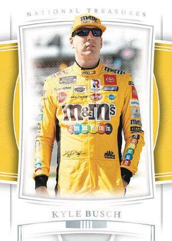 2020 Panini National Treasures Racing NASCAR Cards 3