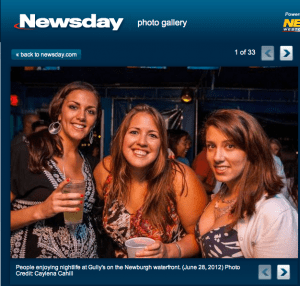 Fun at Gully's in Newburgh, NY