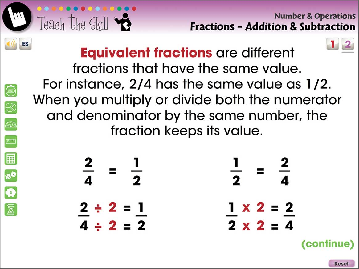 Number Amp Operations Fractions