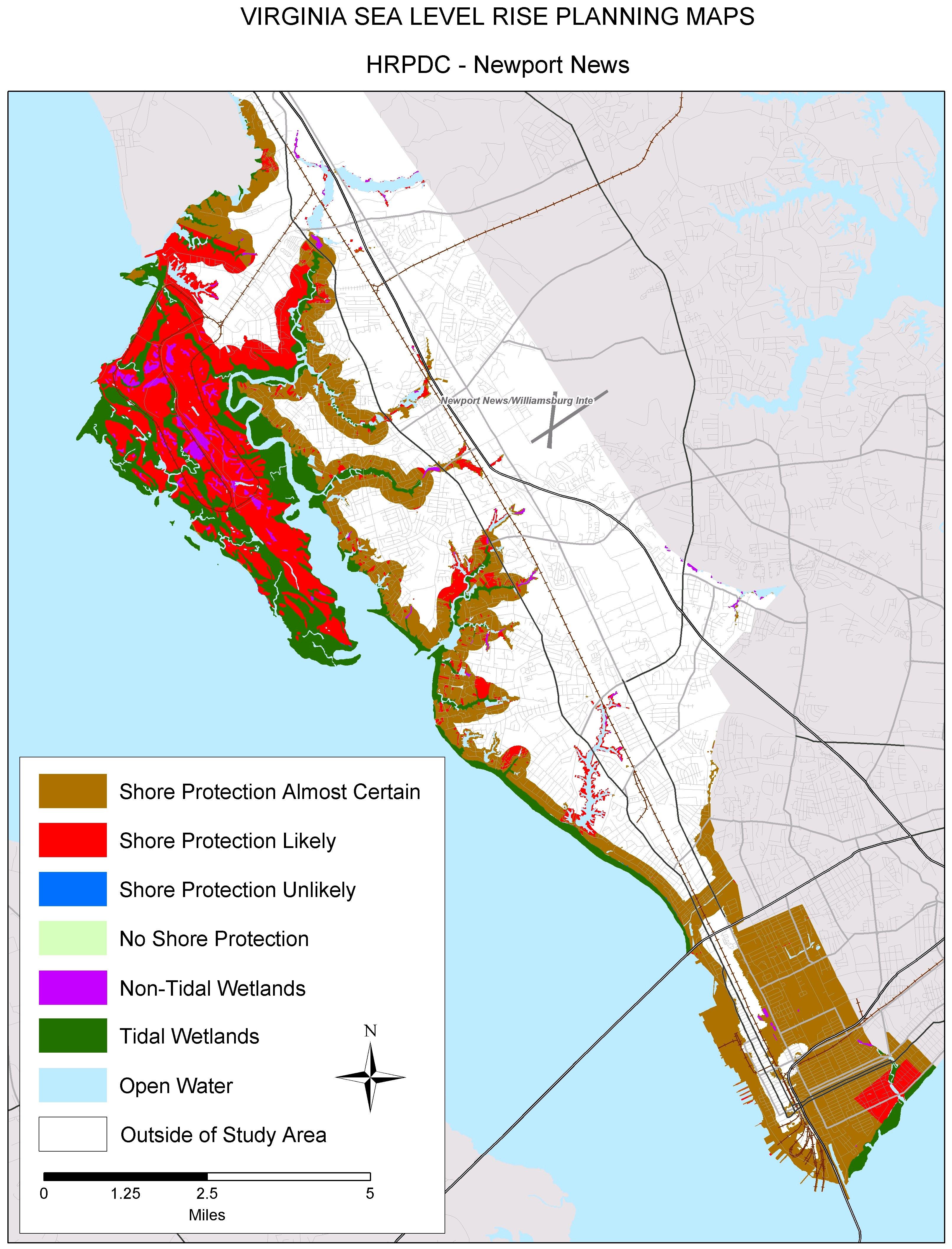 Sea Level Rise Planning Maps