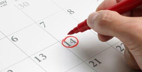 Calendari pròxims esdeveniments