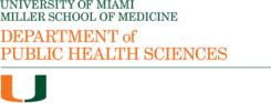 University of Miami Department of Public Health Sciences logo