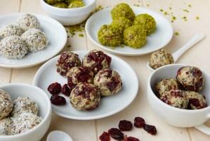 Cranberry-Honey Protein Balls
